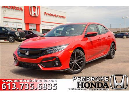 2020 Honda Civic Sport Touring (Stk: 20050) in Pembroke - Image 1 of 30