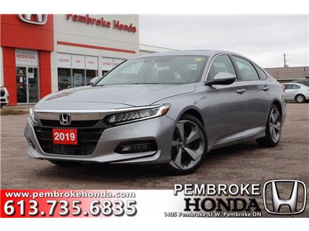 2019 Honda Accord Touring 1.5T (Stk: P7485) in Pembroke - Image 1 of 30