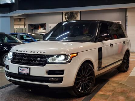 2016 Land Rover Range Rover 5.0L V8 Supercharged (Stk: 255961) in Toronto - Image 1 of 20