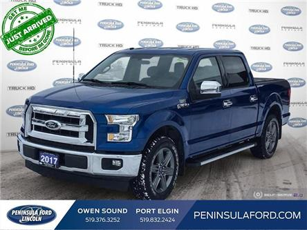 2017 Ford F-150 XLT (Stk: 20MU09B) in Owen Sound - Image 1 of 25