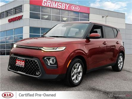 2020 Kia Soul Apple car play, Rear View Camera, Heated Steering (Stk: U1941) in Grimsby - Image 1 of 25