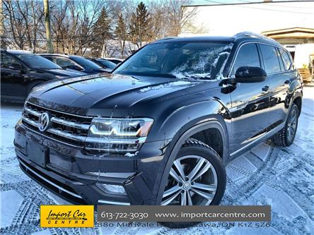 2019 Volkswagen Atlas 3.6 FSI Execline (Stk: 529956) in Ottawa - Image 1 of 27