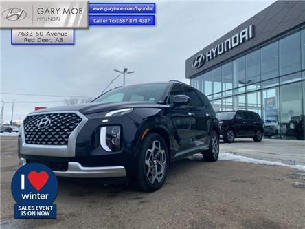2021 Hyundai Palisade Ultimate Calligraphy (Stk: 1PL8995) in Red Deer - Image 1 of 8