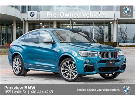 2017 BMW X4 M40i (Stk: PP9529A) in Toronto - Image 1 of 22