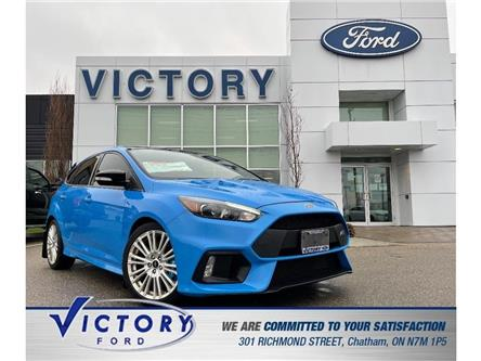 2018 Ford Focus RS Base (Stk: V6599) in Chatham - Image 1 of 30
