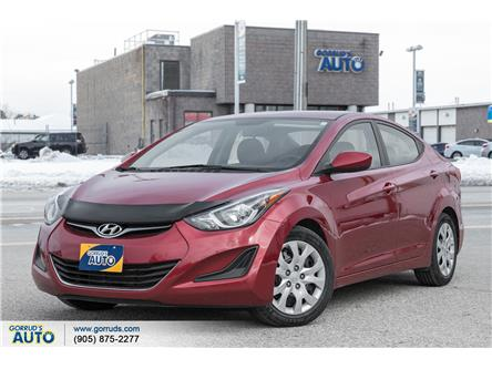 2016 Hyundai Elantra GL (Stk: 696099) in Milton - Image 1 of 18