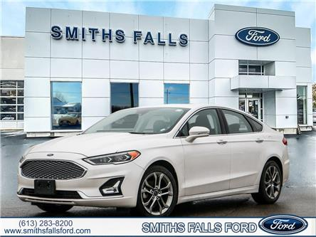 2020 Ford Fusion Hybrid Titanium (Stk: W1141) in Smiths Falls - Image 1 of 30