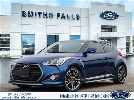 2016 Hyundai Veloster Turbo (Stk: 2032AA) in Smiths Falls - Image 1 of 30