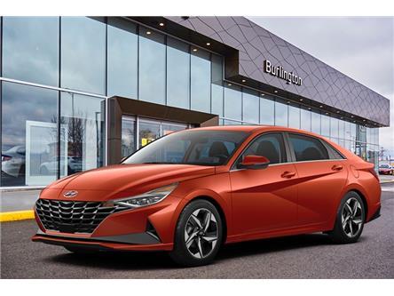 2021 Hyundai Elantra Preferred (Stk: N2763) in Burlington - Image 1 of 3