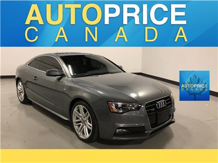 2015 Audi A5 2.0T Komfort (Stk: W2927) in Mississauga - Image 1 of 28