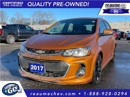 2017 Chevrolet Sonic Premier Auto (Stk: L-4464) in LaSalle - Image 1 of 27