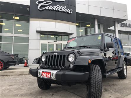 2014 Jeep Wrangler Unlimited Sahara (Stk: J277470A) in Newmarket - Image 1 of 26