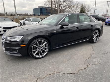 2018 Audi A4 2.0T Technik (Stk: 393-35) in Oakville - Image 1 of 21