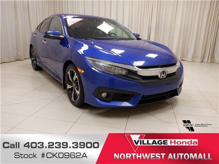 2016 Honda Civic Touring (Stk: CK0962A) in Calgary - Image 1 of 21
