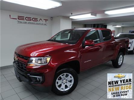 2021 Chevrolet Colorado LT (Stk: 217581) in Burlington - Image 1 of 11