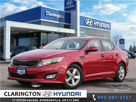 2015 Kia Optima LX (Stk: U1121A) in Clarington - Image 1 of 27
