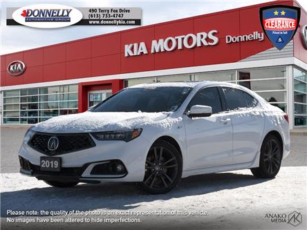 2019 Acura TLX Tech A-Spec (Stk: KU2486) in Kanata - Image 1 of 30