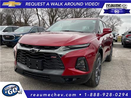 2021 Chevrolet Blazer RS (Stk: 21-0313) in LaSalle - Image 1 of 6