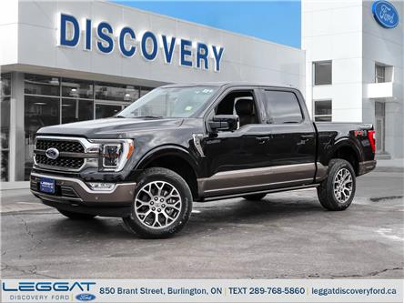 2021 Ford F-150 King Ranch (Stk: F121-01525) in Burlington - Image 1 of 25
