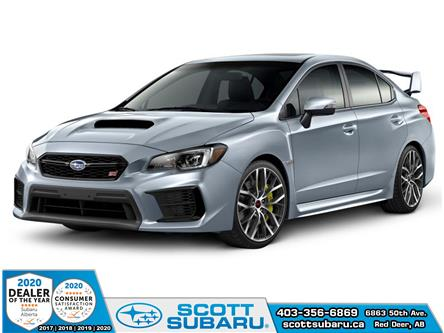 2020 Subaru WRX STI Sport-tech w/Wing (Stk: 833414) in Red Deer - Image 1 of 10