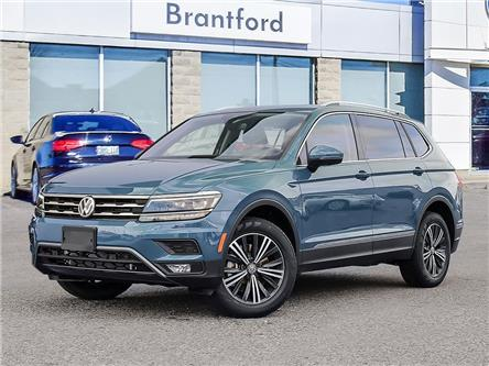 2021 Volkswagen Tiguan Highline (Stk: TI21410) in Brantford - Image 1 of 14