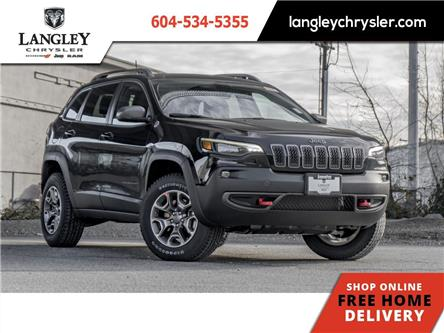 2021 Jeep Cherokee Trailhawk (Stk: M174927) in Surrey - Image 1 of 22