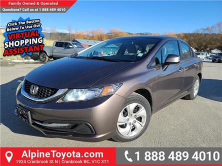 2013 Honda Civic LX (Stk: W168987A) in Cranbrook - Image 1 of 20