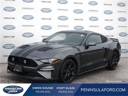 2019 Ford Mustang EcoBoost (Stk: 21BR04A) in Owen Sound - Image 1 of 20