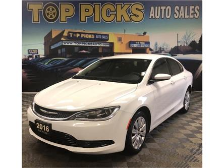 2016 Chrysler 200 LX (Stk: 156255) in NORTH BAY - Image 1 of 27