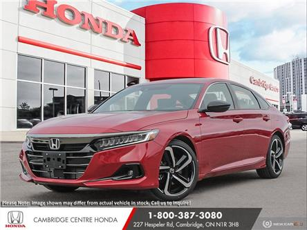 2021 Honda Accord SE 1.5T (Stk: 21452) in Cambridge - Image 1 of 24