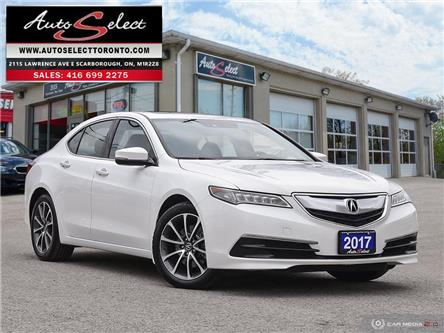 2017 Acura TLX SH-AWD (Stk: 17ALX41) in Scarborough - Image 1 of 28