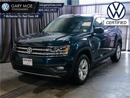 2019 Volkswagen Atlas 3.6 FSI Comfortline (Stk: VP7738) in Red Deer County - Image 1 of 26