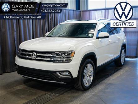 2018 Volkswagen Atlas Execline 3.6 FSI (Stk: VP7748A) in Red Deer County - Image 1 of 27