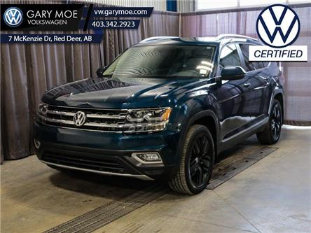 2019 Volkswagen Atlas Highline 3.6 FSI 4MOTION (Stk: VP7752) in Red Deer County - Image 1 of 27