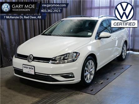 2019 Volkswagen Golf SportWagen Highline DSG 4MOTION (Stk: VP7755) in Red Deer County - Image 1 of 25