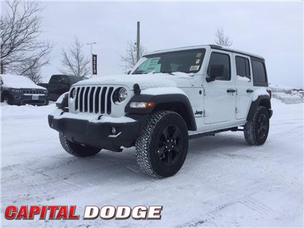 2021 Jeep Wrangler Unlimited Sport (Stk: M00203) in Kanata - Image 1 of 25