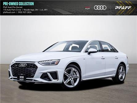 2020 Audi A4 2.0T Progressiv (Stk: C8101) in Woodbridge - Image 1 of 22