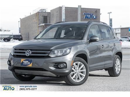 2017 Volkswagen Tiguan Wolfsburg Edition (Stk: 039546) in Milton - Image 1 of 19
