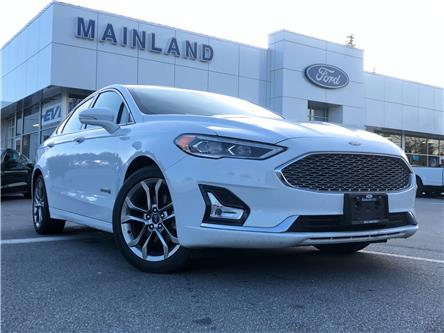 2019 Ford Fusion Hybrid Titanium (Stk: P7607) in Vancouver - Image 1 of 30