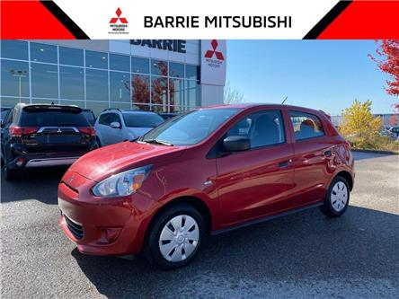 2015 Mitsubishi Mirage ES (Stk: 00612) in Barrie - Image 1 of 25