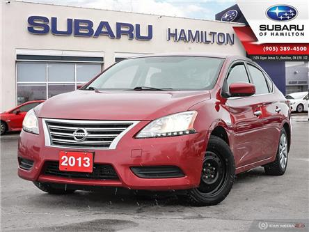 2013 Nissan Sentra 1.8 SV (Stk: S8578B) in Hamilton - Image 1 of 21