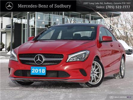 2018 Mercedes-Benz CLA 250 Base (Stk: UM1155) in Sudbury - Image 1 of 28