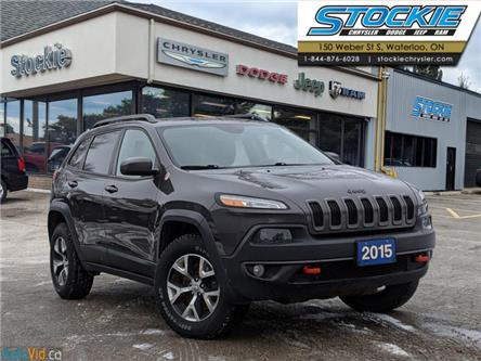 2015 Jeep Cherokee Trailhawk (Stk: 32870) in Waterloo - Image 1 of 28