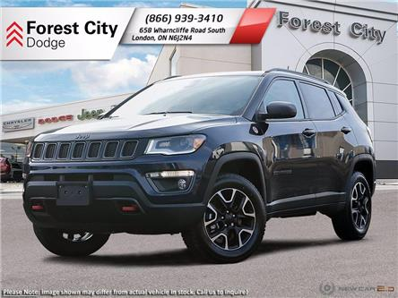 2021 Jeep Compass Trailhawk (Stk: 21-9002) in London - Image 1 of 23