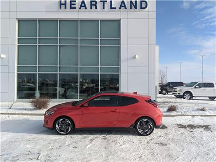 2019 Hyundai Veloster Turbo Tech (Stk: LRN002A) in Fort Saskatchewan - Image 1 of 35