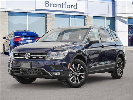 2021 Volkswagen Tiguan United (Stk: TI21076) in Brantford - Image 1 of 23