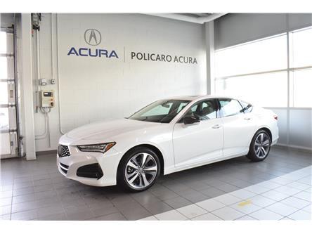 2021 Acura TLX Platinum Elite (Stk: M800208SHOWROOM) in Brampton - Image 1 of 16