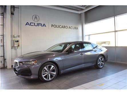 2021 Acura TLX Platinum Elite (Stk: M801875) in Brampton - Image 1 of 22