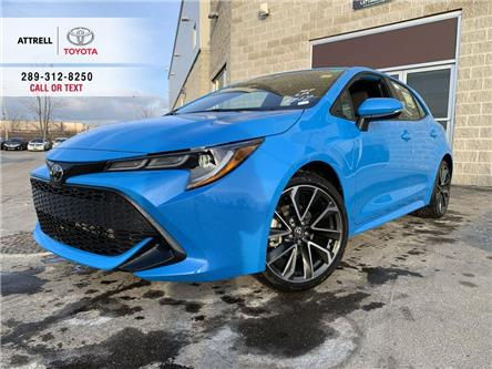 2021 Toyota Corolla Hatchback SE UPGRADE (Stk: 48721) in Brampton - Image 1 of 11