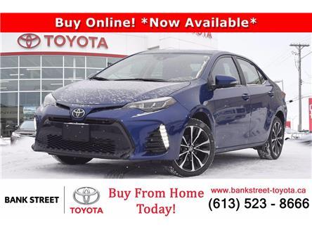 2017 Toyota Corolla SE (Stk: L28602) in Ottawa - Image 1 of 24